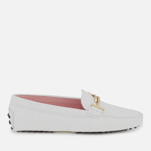 Tod's Women's Print Croc Gommino Driving Shoes - White