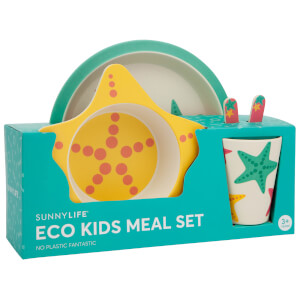 Sunnylife Kids' Eco Star Fish Meal Set