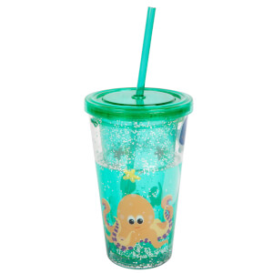 Sunnylife Under the Sea Glitter Tumbler