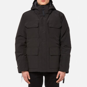 Canada Goose Men's Black Label Maitland Parka Jacket - Black
