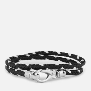 Tod's Men's Scooby Trek Bracelet - Black/White