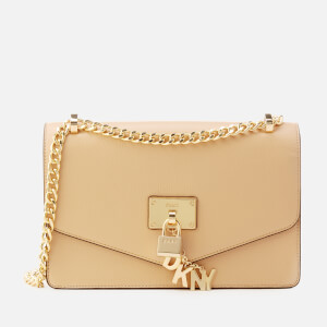 DKNY Women's Elissa Large Shoulder Bag - Egg-Nog