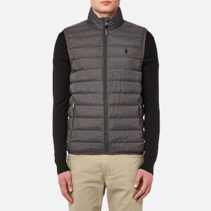 Polo Ralph Lauren Men's Packable Down Fill Gilet - Windsor Heather