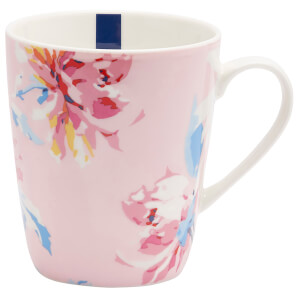Joules Single China Mug - Pink Whitstable Floral
