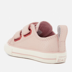2458887b9ab6 Converse Toddlers  Chuck Taylor All Star 2V Ox Trainers - Particle Beige  Egret