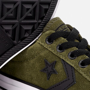 Converse Kids' Star Player Ox Trainers - Herbal/White/Black: Image 4