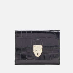 Aspinal of London Women's Mayfair Small Purse - Black