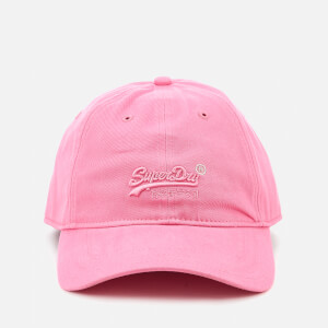 Superdry Women's Orange Label Soft Touch Cap - Pink