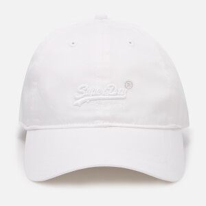 Superdry Women's Orange Label Soft Touch Cap - Optic White