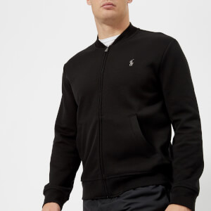 Polo Ralph Lauren Men's Double Knit Tech Baseball Jacket - Polo Black