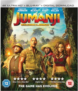 Jumanji: Welcome To The Jungle - 4K Ultra HD
