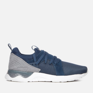 Asics Lifestyle Men's Gel-Lyte V Sanze Mesh Trainers - Dark Blue/Stone Grey