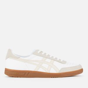 Asics Lifestyle Men's Vickka TRS Leather Court Trainers - White/Birch