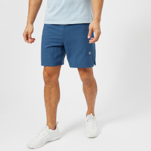 Asics Running Men's 2-in-1 7 Inch Shorts - Dark Blue Heather