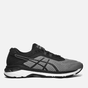 Asics Men's Running GT-2000 6 Trainers - Stone Grey/Black/White