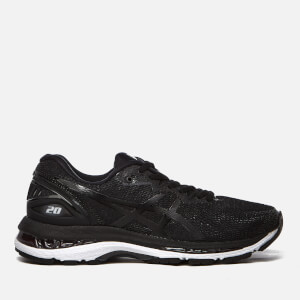 Asics Running Women's Gel-Nimbus 20 Trainers - Black/White/Carbon