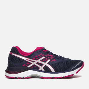 Asics Running Women's Gel-Pulse 9 Trainers - Indigo Blue/Silver/Bright Rose