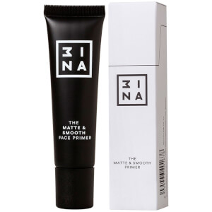 Прозрачный матирующий праймер для выравнивания тона лица 3INA Makeup The Matte & Smooth Primer Transparent 30 мл