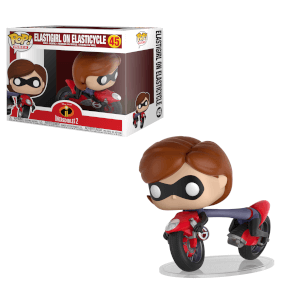 Figurine Pop! Elastigirl sur Moto Les Indestructibles Disney - Vinyl Ride