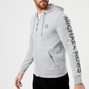 Michael Kors Men's Spring Fleece Hoody - Heather Grey