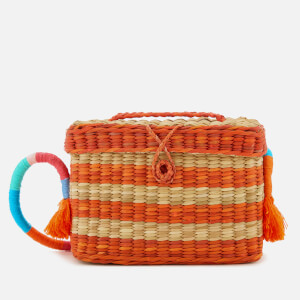 Nannacay Women's Roge Multi Thread Cross Body Bag - Off White/Orange