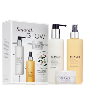 Elemis Smooth Glow Cleansing Kit (Worth £69.00)