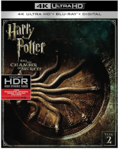 Harry Potter & The Chamber Of Secrets - 4K Ultra HD