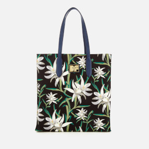 Diane von Furstenberg Women's Floral Nylon Tote Bag - Harlow Black