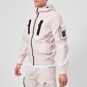 Marshall Artist Men's Garment Dyed Bomber Jacket - Pink