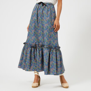 A.P.C. Women's Cecil Maxi Liberty Print Skirt - Multi