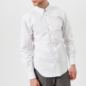 Our Legacy Men's Original BD Oxford Shirt - White