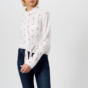 c4c7f5fbaf Rails Women s Val Lipstick Heart Shirt - White