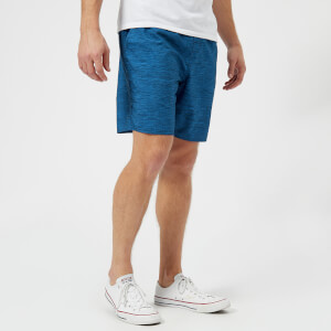 adidas Men's Branded Band Swim Shorts - Hi Res Blue