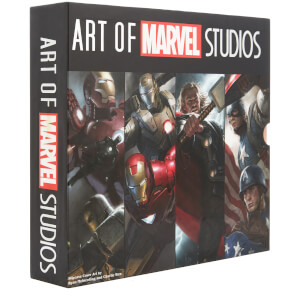 Art of Marvel Studios - 4 Book Set In deluxe Slipcase (Iron Man, Iron Man 2, Thor, Captain America)