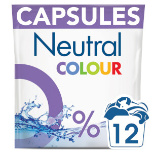 Neutral Colour Washing Capsules - 12 Wash 318g