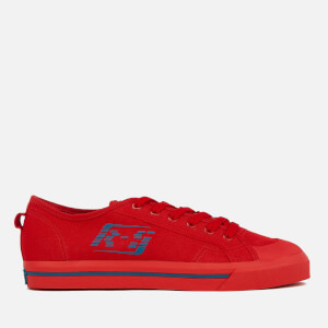 adidas by Raf Simons Men's Spirit Low Trainers - Scarlet/Dust Rust