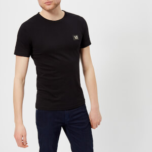 Versace Jeans Men's Small Logo T-Shirt - Nero