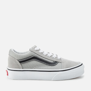 Vans Kids' Old Skool Trainers - Drizzle/Black