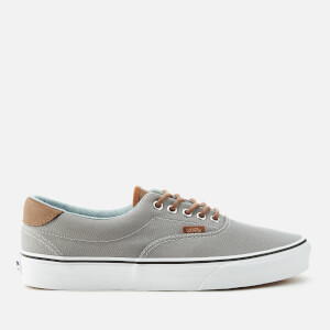 Vans Men's Era 59 Canvas/Leather Trainers - Frost Grey/Acid Denim