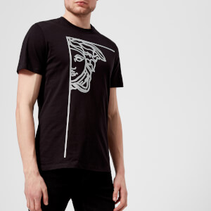 Versace Collection Men's Medusa Logo T-Shirt - Nero