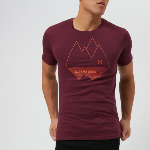 Haglofs Men's Camp Short Sleeve T-Shirt - Aubergine