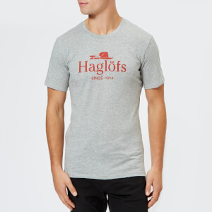 Haglofs Men's Camp Short Sleeve T-Shirt - Grey Melange