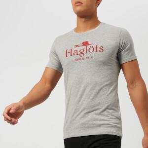 Haglofs Men's Camp Short Sleeve T-Shirt - Grey Melange