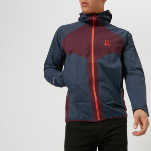 Haglofs Men's L.I.M Proof Multi Jacket - Aubergine/Tarn Blue