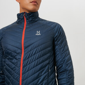 Haglofs Men's L.I.M Barrier Jacket - Tarn Blue/Cayenne