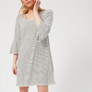 MINKPINK Women's Staycation Flare Sleeve Dress - Stripe