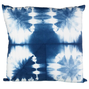 Parlane Ocata Cotton Cushion - White/Blue