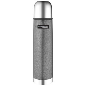 Thermos ThermoCafe Hammertone Stainless Steel Flask - Grey 500ml