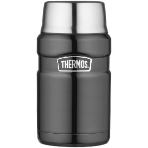 Thermos Stainless King Food Flask - Gun Metal 710ml