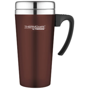 Thermos ThermoCafe Soft Touch Travel Mug - Paprika - 420ml